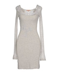 Ermanno Scervino Lingerie Nightgowns Light Grey