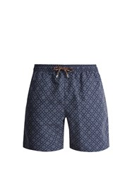 Stella Mccartney Tile Print Swim Shorts Navy Multi