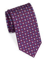 Brooks Brothers Classic Pinwheel Tie Purple