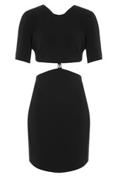 Thierry Mugler Mugler Dress With Cutout Waist Black