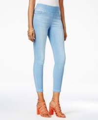 Thalia Sodi Pull On Jeggings Only At Macy's Sky Blue Wash
