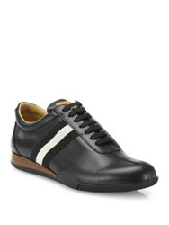 Bally Frenz Trainspotting Lace Up Sneakers Black