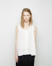 Zucca Double Gauze Blouse White
