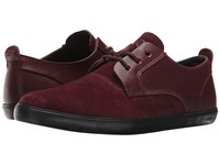 Camper Jim K100084 Dark Red Men's Lace Up Casual Shoes