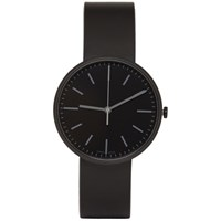 Uniform Wares Black Rubber M37 Watch