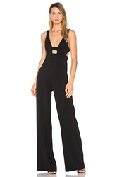 Jay Godfrey Baker Jumpsuit Black