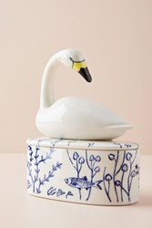 Anthropologie Animal Blue Motif