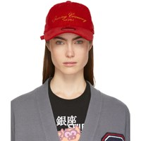 Opening Ceremony Red New Era Edition Corduroy Cap