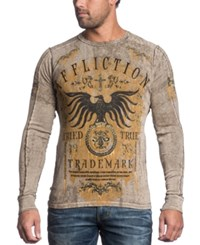 Affliction Reversible Thermal Tried And True Long Sleeve Shirt