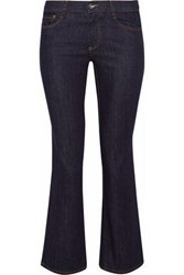 Red Valentino Low Rise Kick Flare Jeans Navy