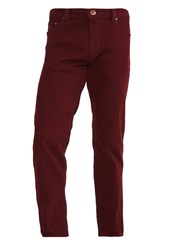 Bugatti Nevada Straight Leg Jeans Bordeaux