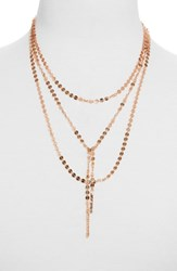 Baublebar Amber Layered Chain Y Necklace