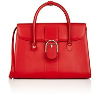 Delvaux Women's Brillant Double Handle Satchel Red