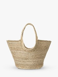 Jaeger Georgie Straw Bag Neutral