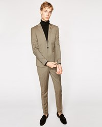 The Kooples Houndstooth Wool Suit Trousers