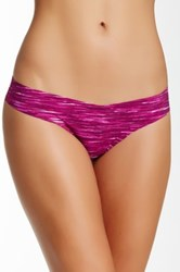 Shimera Free Cut Thong Purple