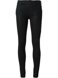 Koral Coated Skinny Jeans Black