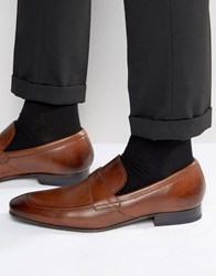 Ted Baker Roykso Leather Loafers Tan
