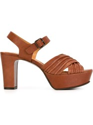 Chie Mihara 'Marriot' Sandals Brown