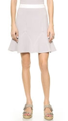 Rebecca Taylor Dot Flippy Skirt Pink Pearl