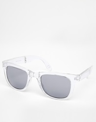 Vans Spicola 4 Sunglasses With Mirrored Lens Clear