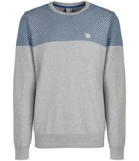 Bench Tatic Crew Neck Jumper Grey Marl