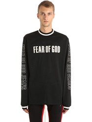 Fear Of God Motocross Techno Jersey And Mesh T Shirt