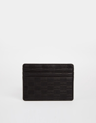 Tommy Hilfiger Thierry Leather Card Holder Brown