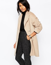 Whistles Drawn Cocoon Coat Oatmeal