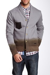 Ecko Unlimited Ombre Sinclair Fleece Cardigan Gray