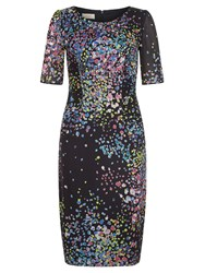 Hobbs Lauren Dress Multi Coloured Multi Coloured