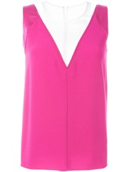 Kenzo Layered Tank Top Pink And Purple