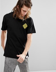 Diamond Supply Co. Formula T Shirt With Back Print In Black Black
