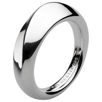 Kit Heath Bevel Wave Ring Silver
