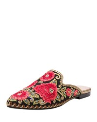 Andre Assous Kosa Embroidered Flat Mule Multi