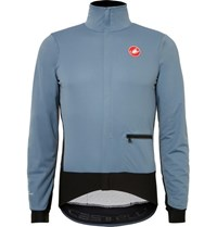 Castelli Alpha Windstopper Shell Cycling Jacket Gray