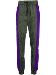 N 21 No21 Two Tone Tracksuit Trousers Green