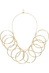 Arme De L'amour Halo Gold Plated Necklace Usd