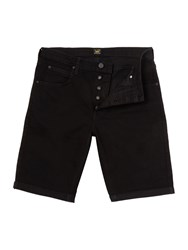 Lee Men's Regular Fit Denim Short Black