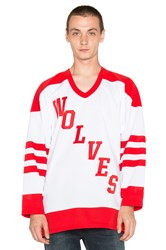 Raised By Wolves Wolves Pro Hockey Jersey Red