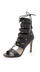 Zimmermann Tassel Hybrid Sandals Black