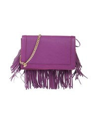 Boutique Moschino Handbags Mauve