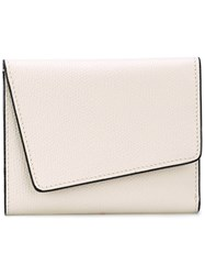 Valextra Small 'Twist' Wallet Women Calf Leather One Size Nude Neutrals