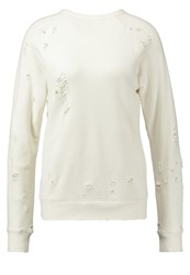 Earnest Sewn Ella Sweatshirt Aged White Off White