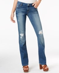 Guess Ripped Mini Bootcut Gateview Wash Jeans Gateview W. Destory Wash