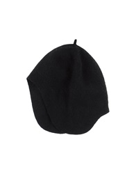 M.Grifoni Denim Hats Black