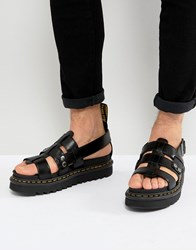 Dr. Martens Dr Terry Strap Sandals In Black