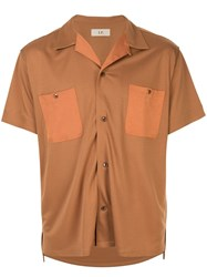 Loveless Patch Pocket Shirt Brown