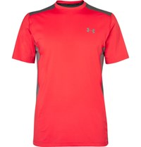 Under Armour Raid Heatgear Jersey T Shirt Red