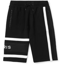 Givenchy Loopback Cotton Jersey Shorts Black